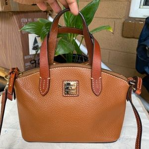 Dooney and Bourke Mini Pebble Leather Dome Bag ❤️